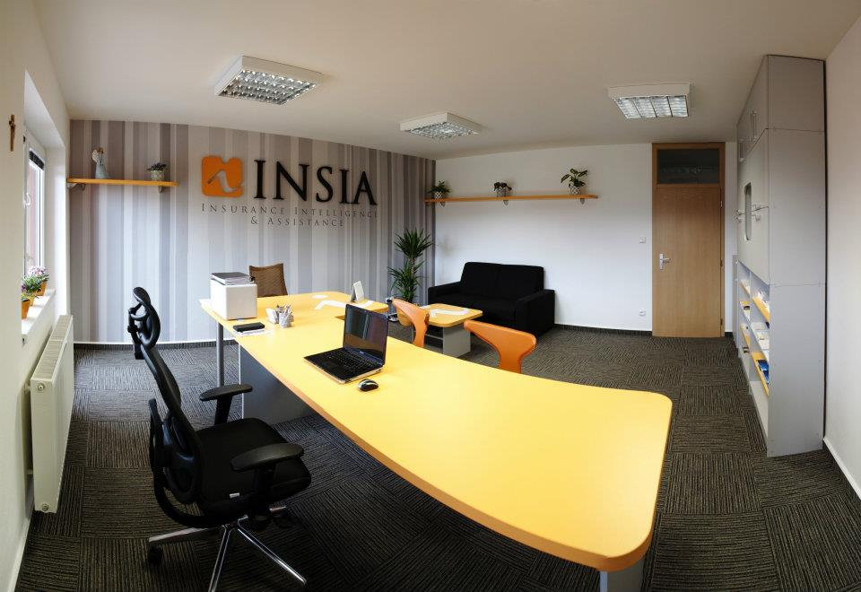 INSIA branded office